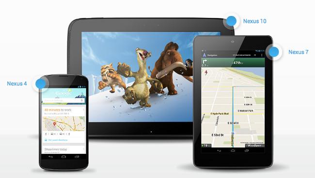 novos-nexus-10-4-7 Google apresenta os novos Nexus para competir com a Apple