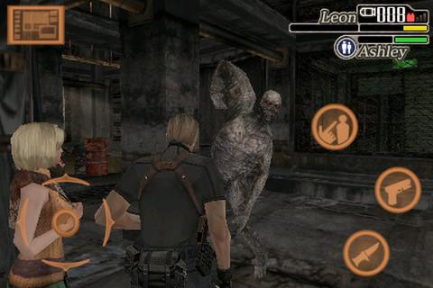 re-4-iphone Conheça os Resident Evil's para celulares e smartphones