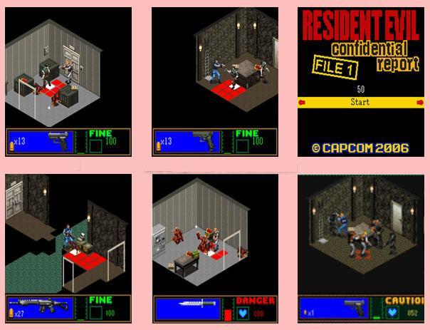 re-confidential-report-java Conheça os Resident Evil's para celulares e smartphones