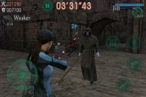 re-mercenaries Conheça os Resident Evil's para celulares e smartphones