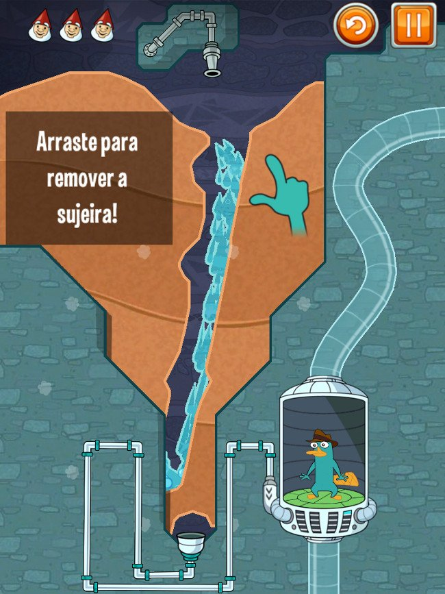 whereismyperry Jogo para iPhone/iPad Grátis -  Where's My Perry? Free