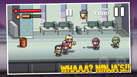 "Beatdown-Screenshot Dica de app: Jogo ""Beatdown"" para iPhone e iPad"