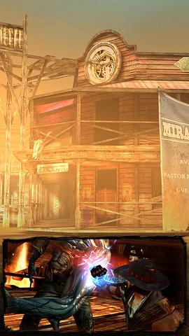 Bladeslinger-Ep.1-Screenshot-2 Bladeslinger chega à App Store brasileira - o jogo é pago e dividido em episódios