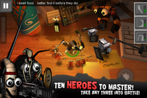 Bug-Heroes-Screenshot Bug Heroes: uma mistura de ação, aventura e Tower Defense
