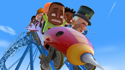 Coaster-Crazy-Screenshot-1 Jogo para iPhone e iPad Grátis - Coaster Crazy