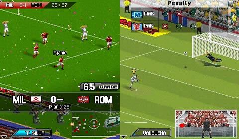 O jogo celular Real Football 2013 Java