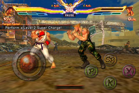 STREET-FIGHTER-X-TEKKEN-Gauntlet-Screenshot Jogo STREET FIGHTER X TEKKEN Gauntlet de graça para iPhone e iPad