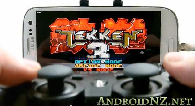 Suporte a controles transforma o Android em um verdadeiro videogame (Foto: AndroidNZ)
