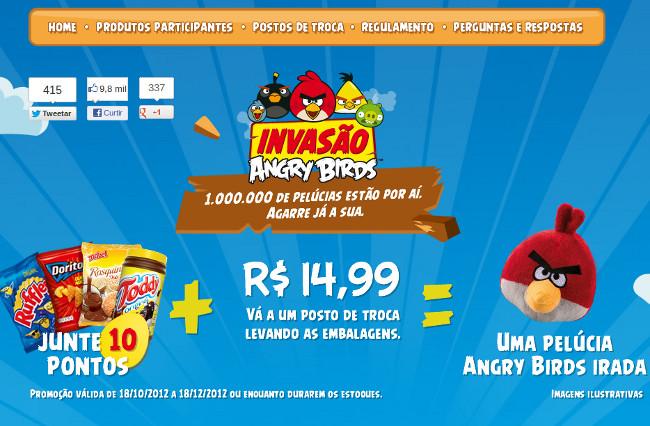 promoção-ruffles-doritos-angrybirds Ruffles e Doritos lançam promoção com Angry Birds de pelúcia