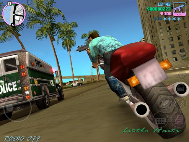 GTA-Vice-City-inGame-1 25 Melhores Jogos de Mundo Aberto OFFLINE do Android e iOS