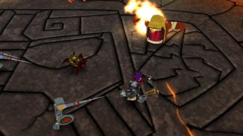 Knights-Trial-inGame-2 Knight's Trial - Jogo brasileiro grátis para iPhone e Android