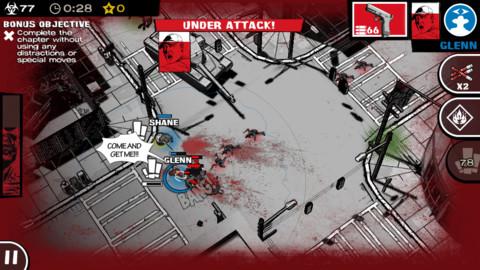 The-Walking-Dead-Assault-Screenshot The Walking Dead: Assault, baseado no HQ, chega para iOS