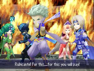 ffivds2 Final Fantasy IV chega para iOS este mês e Android em 2013
