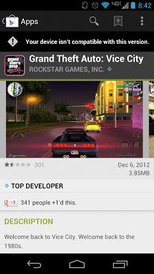 gta-vice-city-android-google-play. O estranho caso das qualificações positivas em games ruins na App Store