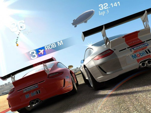 real-racing3-fail Real Racing 3 atrasa e só chega em fevereiro de 2013