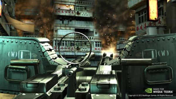 Demonstração de Dead Trigger 2 coloca o jogador em meio a uma cidade tomada por zumbis | Foto: Divulgação