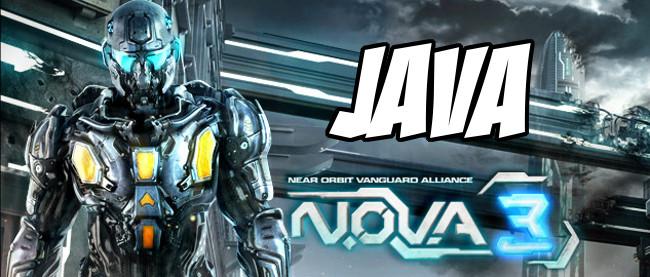 NOVA3-JAVA Jogo para Celular Java - N.O.V.A 3