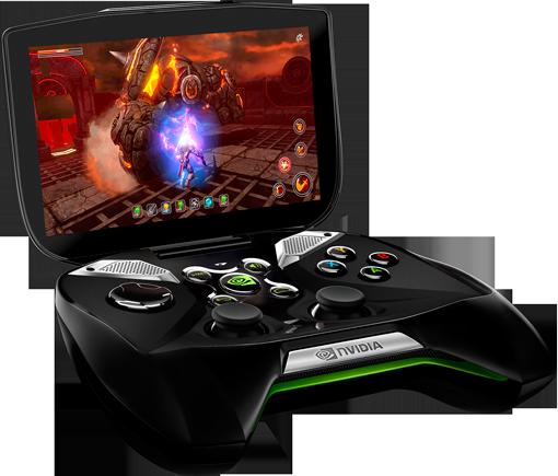 Console-Joystick da NVidia é equipado com Tegra 4 e tela de alta definição | Foto: Divulgação