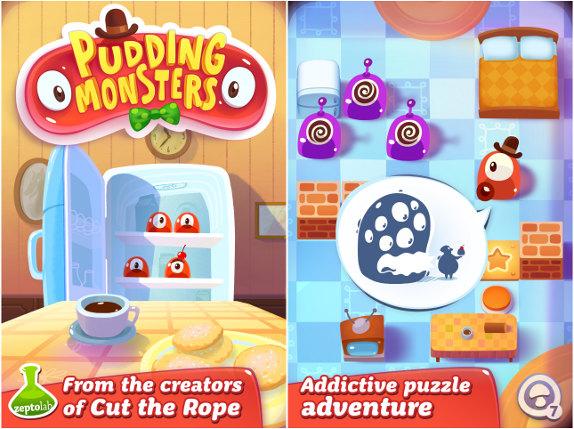 Pudding Monsters é um divertido puzzle para Android (Foto Divulgação)