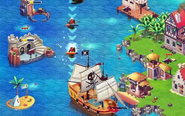 Playmobil Pirates é um jogo gratuito para Android (Foto: Divulgação)