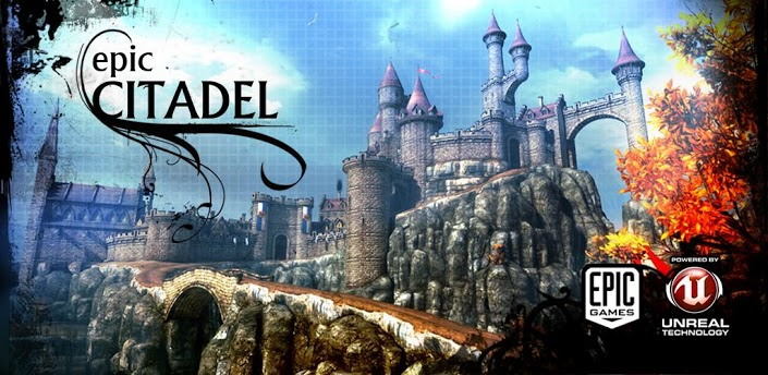 Epic-citadel-Android Epic Citadel no Android, será que Infinity Blade vem aí?