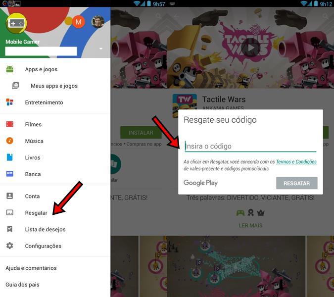 como-colocar-codigo-creditos-google-play-1 Como comprar aplicativos na Google Play sem cartão de crédito