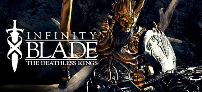 infinity-blade-deathless-kings Infinity Blade é o jogo grátis da semana para iPhone, iPod Touch e iPad