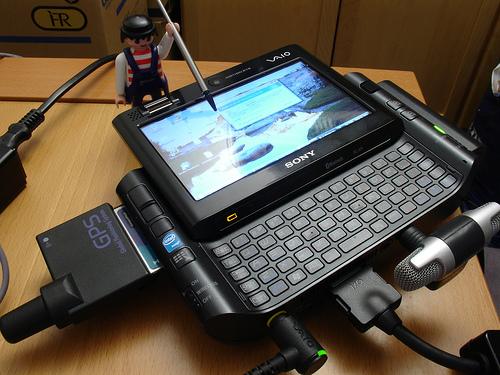 Sony Vaio UX, o sonho dos Geeks em 2007 (Foto: Reprodução/Flickr)