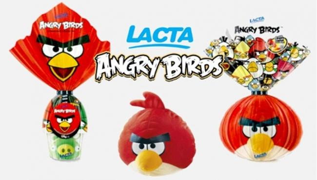 18064.31458-Ovos-de-Pascoa-Angry-Birds Angry Birds vem de brinde em ovos de Páscoa da Lacta