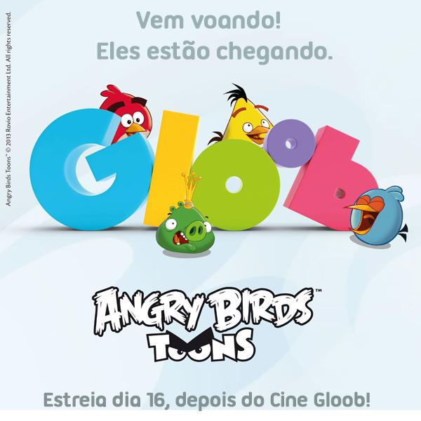 Desenho Animado Angry Birds Toons Estreia Dia 16 No Gloob