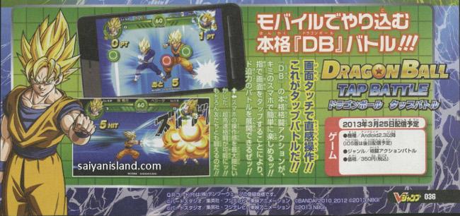 Dragon-Ball-Tap-Battle Jogo do Anime Dragon Ball chega em breve para Android e iOS