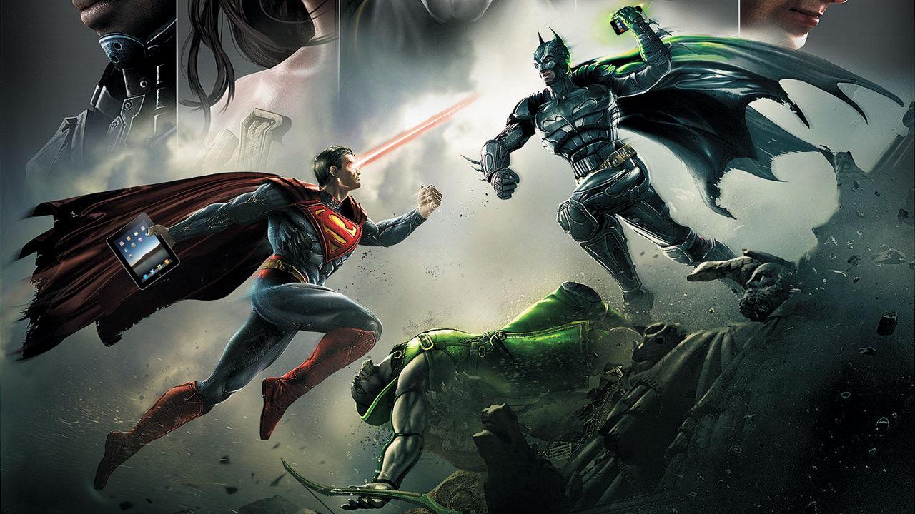 Injustice-Gods-Among-Us-também-para-iOS Injustice: Gods Among Us - Jogo terá versão para iOS e Android