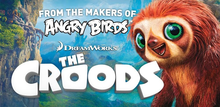 "The-Croods-Rovio-Android Rovio desenvolve ""The Croods"", baseado em filme da Dreamworks"