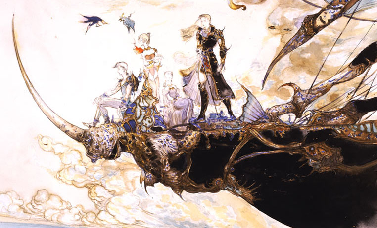 final-fantasy-v_characters_amano Final Fantasy V chega para iPhone e iPad
