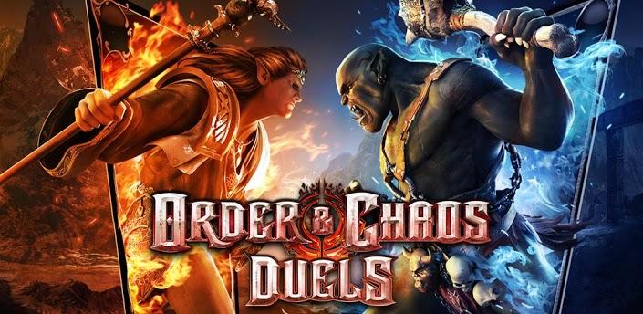 order-chaos-duels-android Order & Chaos: Duels - Novo jogo da Gameloft para Android e iOS