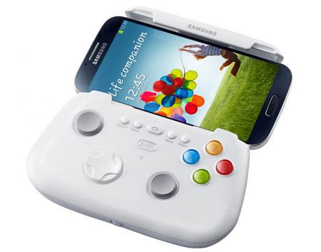 samsung-gamepad-4501 Controle gamepad do Galaxy S4: Irmão do Xbox 360