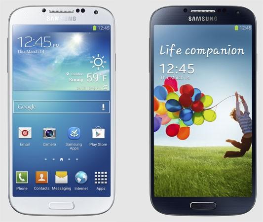 samsunggs4-eng Octa-Core 1.6Ghz ou Quad-Core 1.9GHZ escolha o seu Samsung Galaxy S4