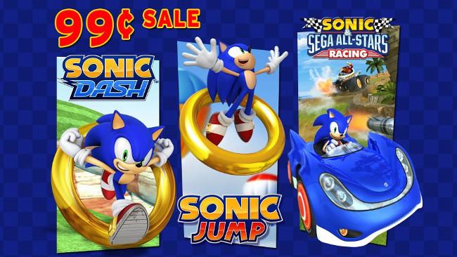 sonic-promocao-iOS Jogos Sonic Dash, Jump e All-Stars Racing em promoção por US$ 0,99