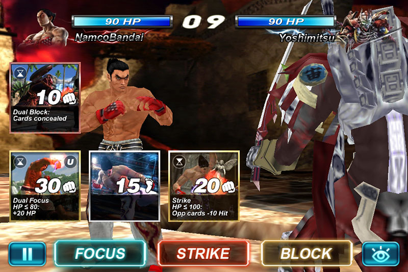 tekken-card-tournament-android-game-1 Tekken Mobile está em pré-registro no Android e iOS