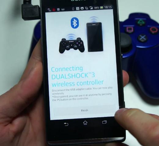 DualShock 3 agora com suporte oficial (Foto: Xperiablog)