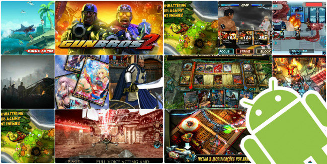 Top 10 Melhores jogos grátis para Android (Março de 2013)