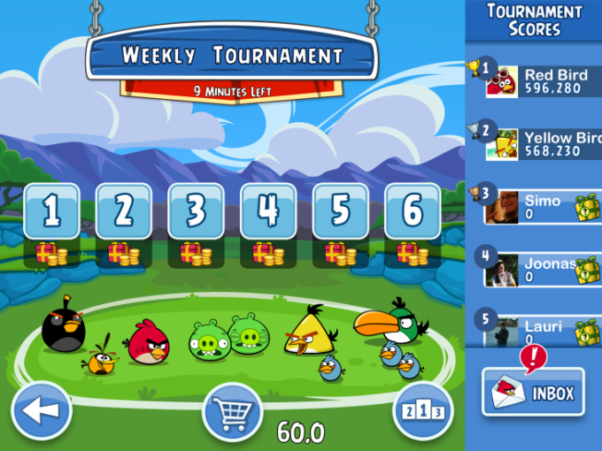 angry-birds-friends-jogo-android-ios Angry Birds Friends (do Facebook) virá para smartphones e tablets