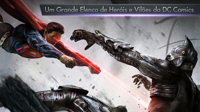 injustice-para-iphone Injustice chega ao Android mas ainda não está disponível no Brasil