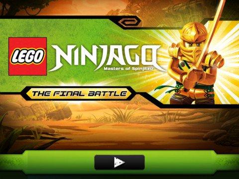 ninjago-iphone-jogo Ninjago - The Final Battle - Jogo grátis para iPhone e iPad