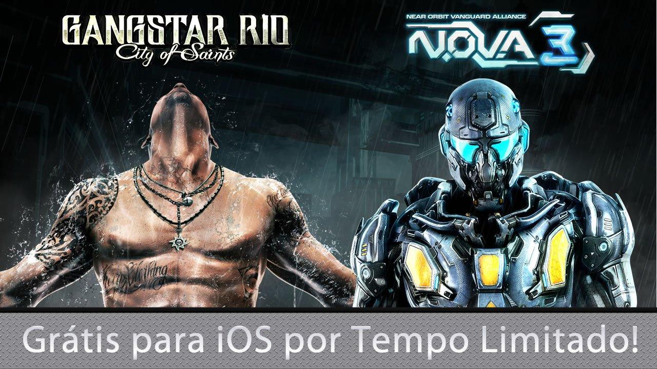 Gangstar-Rio-e-N.O.V.A.-3-grátis-para-iOS Deu a louca na Gameloft: Gangstar Rio e N.O.V.A. 3 GRÁTIS para iOS