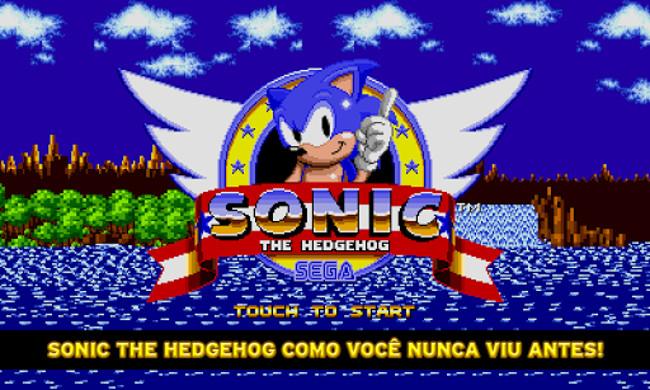 Sonic1-android Todos os jogos do Sonic em PROMOÇÃO no Android e iOS por USD 0,99