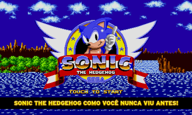 Sonic1-android 25 Melhores Jogos Pagos para Android de 2013