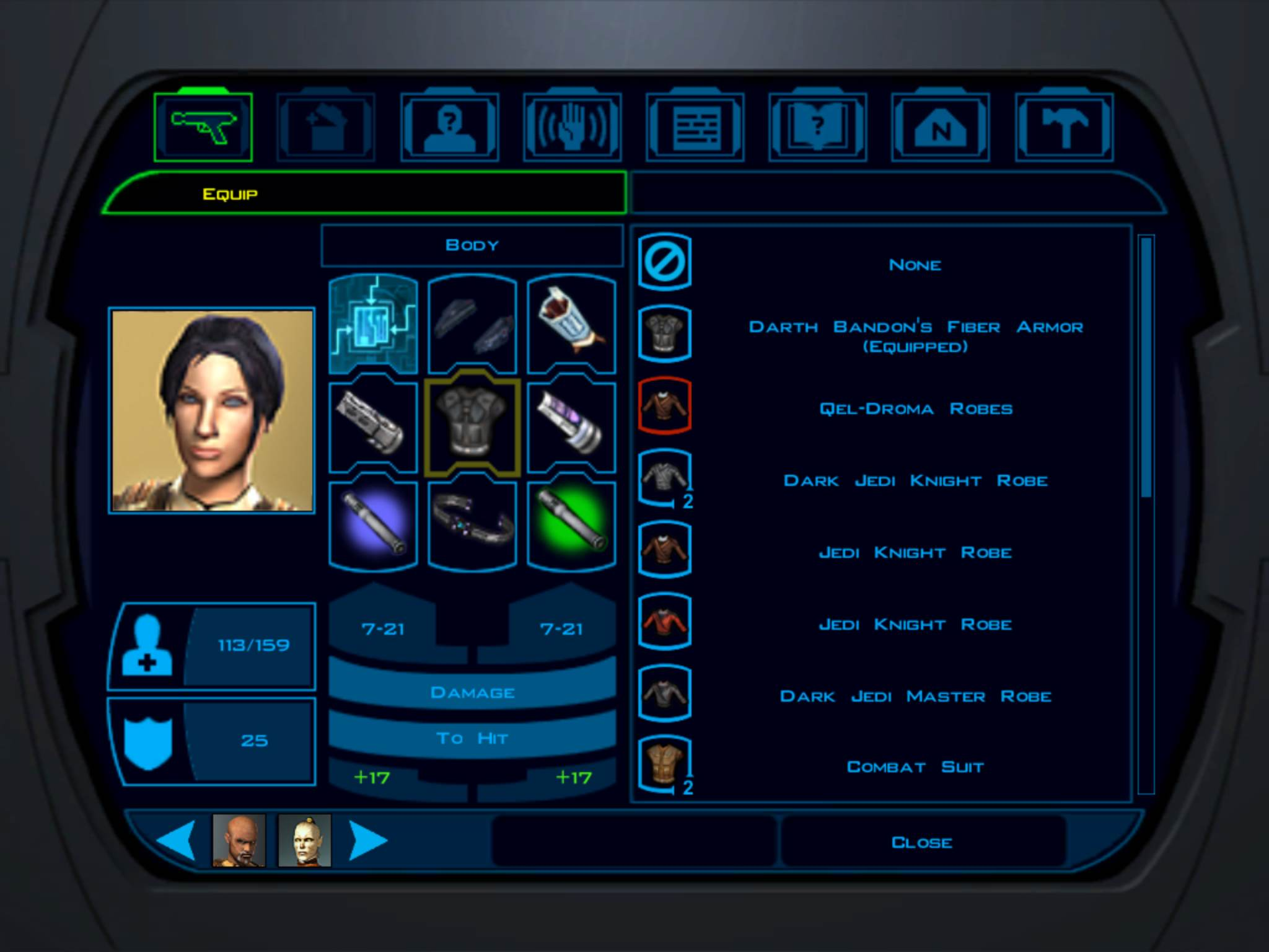 Star-Wars-Knights-of-the-Old-Republic-inGame-Tela-2 STAR WARS: Knights of The Old Republic ganhará versão para iPad
