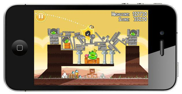 angry-birds-iphone Games são os aplicativos mais comprados de toda a história do iPhone