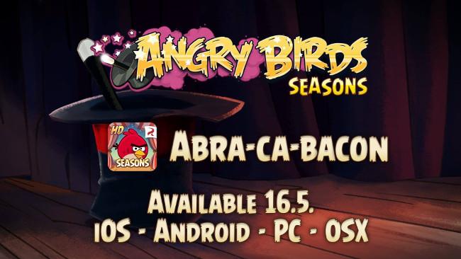 angry-birds-seasons-magica Atualização de Angry Birds Seasons tem portais e muito magia